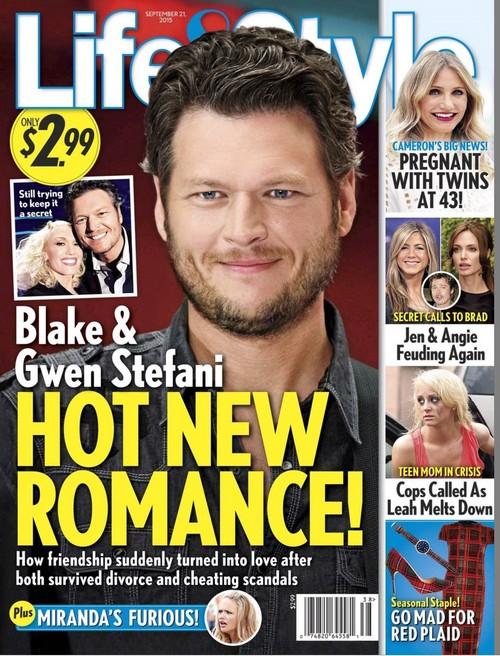 Gwen Stefani and Blake Shelton Hooking Up: Hot New Romance Betrays Jealous Miranda Lambert?