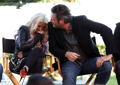 Blake Shelton Cheating With Christina Aguilera Backstage: Miranda Lambert Jealous and Furious