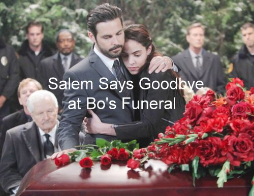 Days of Our Lives (DOOL) Spoilers: Bo's Heartbreaking Funeral – Chad Stops Ben From Shooting Abigail - Cabin Fire Revenge