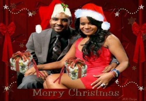 Bobbi Kristina Brown Exploited by Nick Gordon: Photoshopped Christmas Card From Whitney Houston Grammy Tribute