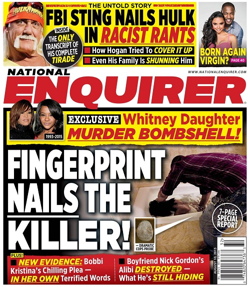 Bobbi Kristina Brown: Fingerprints Prove Murder - Family Gathers New Evidence Against Nick Gordon? (PHOTO)