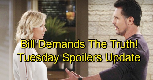 The Bold and the Beautiful Spoilers: Tuesday, November 6 Update – Brooke Faces Bill's Pressure – Dark Quinn Rises, Donna Fires Back