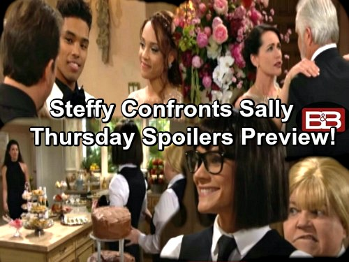 The Bold and the Beautiful Spoilers: Steffy Furious Over Sally's Disguise Stunt – Quinn and Ridge Struggle With Growing Bond