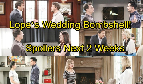 The Bold and the Beautiful Spoilers for Next 2 Weeks: Hope and Liam's Wedding Bombshell – Katie Selfishly Promotes Bill