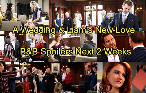 The Bold and the Beautiful Spoilers for Next 2 Weeks: Brooke and Ridge's Wedding - Liam's New Romantic Choice
