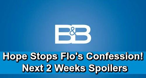 The Bold and the Beautiful Spoilers Next 2 Weeks: Shauna Rejects Birth Mom Claims – Hope Sabotages Flo's Confession – DNA Daddy Shock