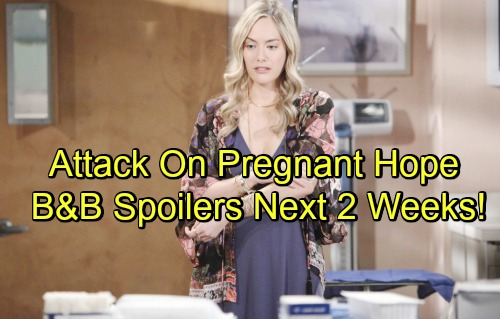 The Bold and the Beautiful Spoilers Next 2 Weeks: Liam Learns He'll Be a Dad Again – Threats To Hope Rev Up
