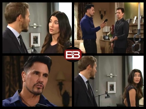 The Bold and the Beautiful Spoilers Thursday September 28: Bill and Steffy Fight Blackmailer – Liam Pressured to Erase Recording
