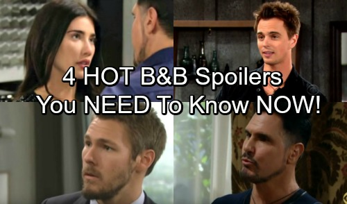 4 Bold and the Beautiful Spoilers You Need to Know October 4-6