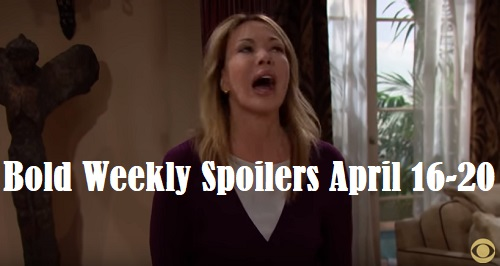 The Bold and the Beautiful Spoilers: Week of April 16-20 – Stunning Moves, Huge Favors and Unraveling Mysteries