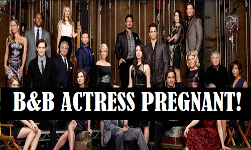 The Bold and the Beautiful Spoilers: B&B Star Pregnant With Baby Number One!