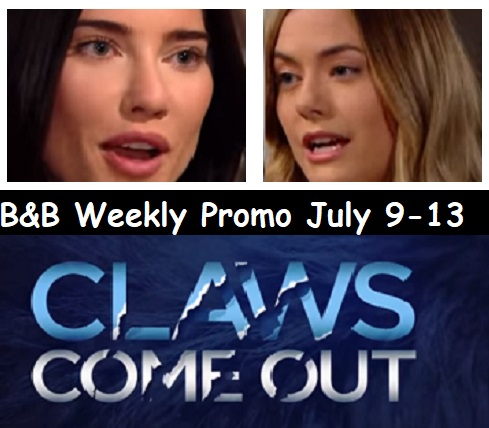 The Bold and the Beautiful Spoilers: Hot Promo for Week of July 9-13 – Hope Warns Steffy to Prepare for Battle – Sally's Wrongfully Accused
