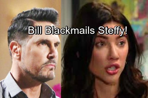 The Bold and the Beautiful Spoilers: Evil Bill Blackmails Steffy – Threatens To Expose Taylor as Shooter