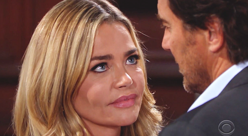 The Bold and the Beautiful Spoilers: Denise Richards Extends B&B Contract - Shauna Gets Ridge, Brooke Heartbroken?