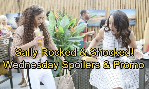The Bold and the Beautiful Spoilers: Wednesday, July 11 – Sally Rocked by Accusations – Zoe's Manipulative Move