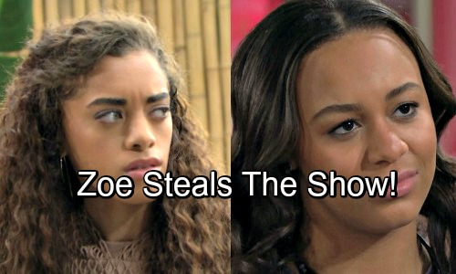 The Bold and the Beautiful Spoilers: Zoe Steals The Show From Insecure Emma