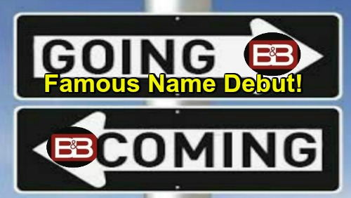 The Bold and the Beautiful Spoilers: Comings and Goings – B&B Famous Name Debut – Hope's Doctor Sets Up Drama