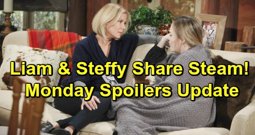 The Bold and the Beautiful Spoilers: Monday, January 14 Update – Flo's A Fake Adoption Agent – Liam and Share Steam Moments