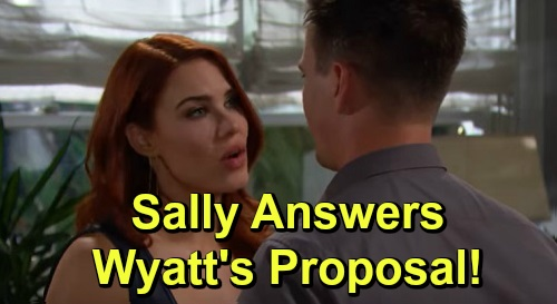 The Bold and the Beautiful Spoilers: Monday, September 23 Update – Unconscious Katie Gets Bill's Support – Sally's Proposal Decision