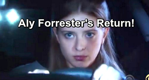 The Bold and the Beautiful Spoilers: Aly Forrester Return - Ashlyn Pearce Discusses Possible Comeback