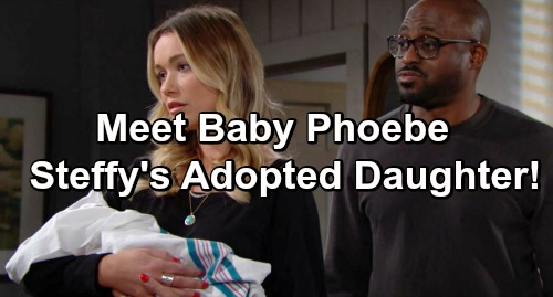 The Bold and the Beautiful Spoilers: Meet Baby Phoebe - Steffy Adopts Infant Reese is Hiding - B&B Spills Plot Details, Baby Name