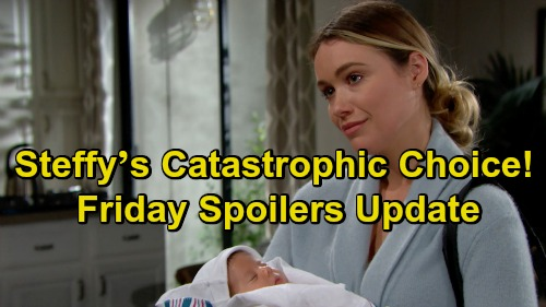 The Bold and the Beautiful Spoilers: Friday, January 25 Update – Steffy's Catastrophic Choice – Thugs Plot Violent Zoe Attack