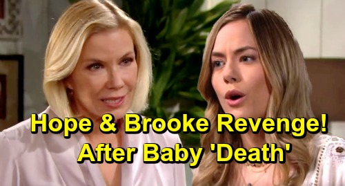 The Bold and the Beautiful Spoilers: Reese Baby Swap and Steffy Adoption Ruin Taylor - Brooke and Hope Get Revenge
