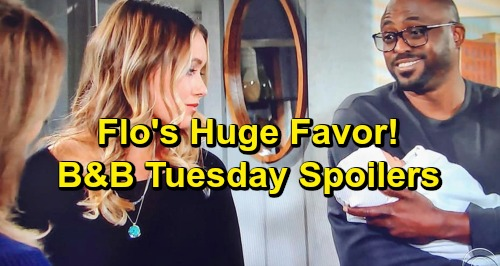 The Bold and the Beautiful Spoilers: Tuesday, January 15 - Steffy Uncertain About Adoption Chance - Reese Asks Flo A Huge Favor