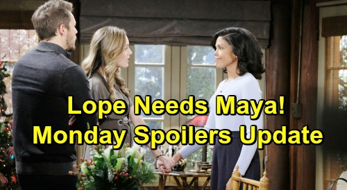 The Bold and the Beautiful Spoilers: Monday, December 24 Update – Zoe Faces Grave Danger - Liam and Hope Need Maya