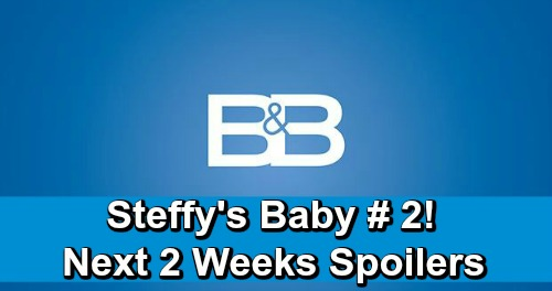 The Bold and the Beautiful Spoilers Next 2 Weeks: Steffy Adopts Baby Number 2 – Hope's Stuck in Darkness – Thorne Jealous