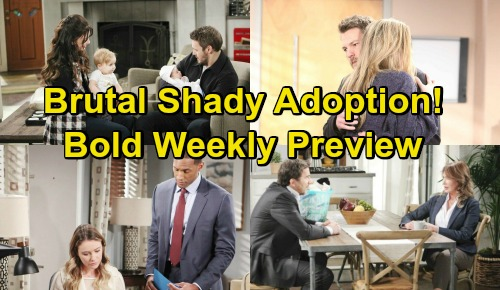 The Bold and the Beautiful Spoilers: Preview Week of January 28 – Liam's Phoebe Love Grows – Taylor Caught In Illegal Adoption