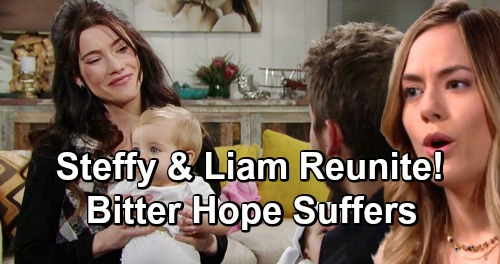 The Bold and the Beautiful Spoilers: Liam and Steffy's Reunion Brings Perfect Steam Family – Bitter Hope Suffers on the Outside