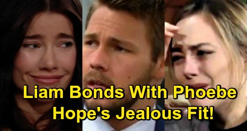 The Bold and the Beautiful Spoilers: Liam Connects with Steffy and Adopted Baby Phoebe – Hope Burns With Jealousy