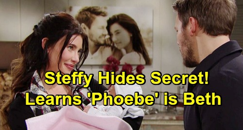 The Bold and the Beautiful Spoilers: Steffy Keeps Quiet After Learning Phoebe's True Identity – Can't Bear to Let 'Daughter' Go