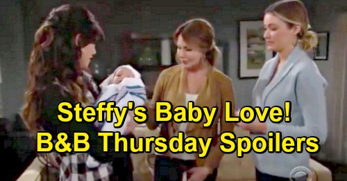 The Bold and the Beautiful Spoilers: Thursday, January 24 - Steffy Falls In Love With Flo's Baby - Liam's Surprising Secret