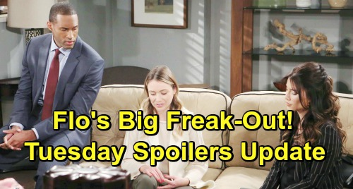 The Bold and the Beautiful Spoilers: Tuesday, January 29 Update – Liam Drops Steffy Adoption Bomb on Hope – Flo's Big Freak-Out