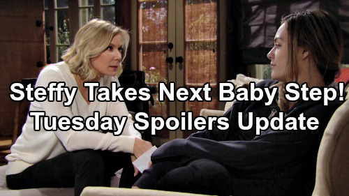 The Bold and the Beautiful Spoilers: Tuesday, January 22 Update – Steffy's Takes Next Adoption Step – Flo's Discovery Threatens Reese