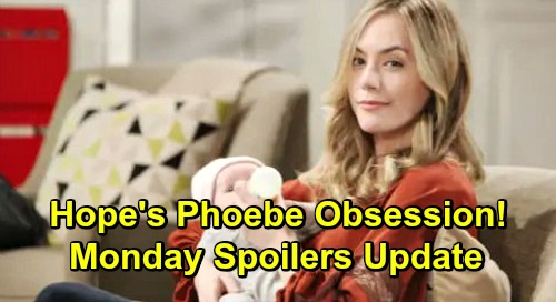 The Bold and the Beautiful Spoilers: Monday, February 4 Update – Hope's Dangerous Phoebe Obsession – Reese Drops Bomb on Zoe