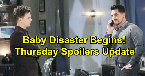 The Bold and the Beautiful Spoilers: Thursday, January 3 Update – Liam's Flight Brings Terror - Reese Forced To Sacrifice Beth
