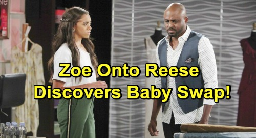 The Bold and the Beautiful Spoilers: Zoe Suspects Reese – Daughter Discovers Truth About Baby Swap, Beth's Death?