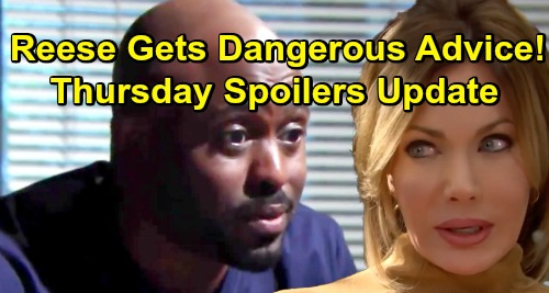 The Bold and the Beautiful Spoilers: Thursday, January 10 Update – Taylor and Brooke's Truce – Taylor Gives Reese Dangerous Advice
