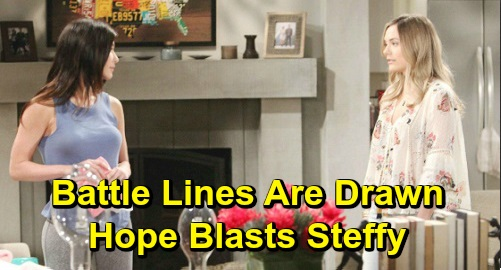 The Bold and the Beautiful Spoilers: Steffy Rehires Zoe - Hope Freaks, Blasts Rival For Her Betrayal