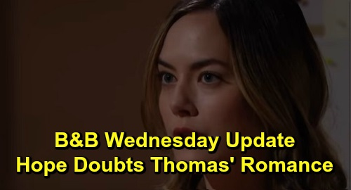 The Bold and the Beautiful Spoilers: Wednesday, December 18 Update – Steffy Surrenders on Rehiring Zoe – Hope Doubts Thomas' New Romance