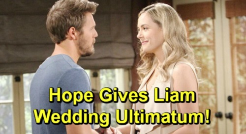 The Bold and the Beautiful Spoilers: Hope Pushes Liam to Remarry, Send Steffy Clear Message – Lope Wedding Ultimatum?