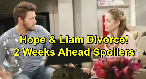 The Bold and the Beautiful Spoilers: Hope's Stunning Choice About Marriage – Liam Blindsided by Lope Divorce?