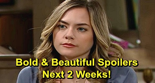 The Bold and the Beautiful Spoilers Next 2 Weeks: Steffy Confides in Sally About Liam – Hope Doubts Thomas' New Love – Zoe's a Traitor