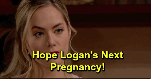 The Bold and the Beautiful Spoilers: Hope's Next Pregnancy, Wants Another Baby with Liam – Steffy's Suffering Gets Worse?