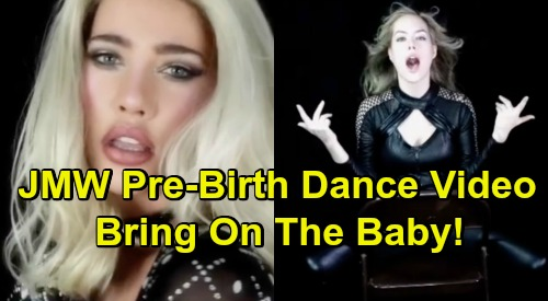 The Bold and the Beautiful Spoilers: Pre-Birth Jacqueline MacInnes Wood and Annika Noelle - Bring On The Baby Music Video
