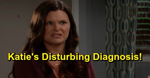The Bold and the Beautiful Spoilers: Katie's Disturbing Diagnosis, Family Fears Death Is Near – Dr. Armstrong's Devastating News