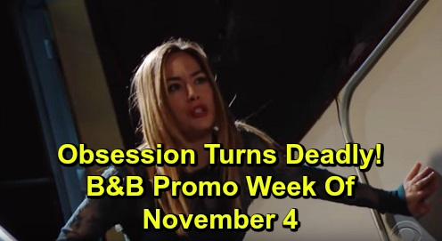 The Bold and the Beautiful Spoilers: Preview Week of November 4 – Hope's Staircase Scream, Frantic Over Douglas – Thomas Is a Monster